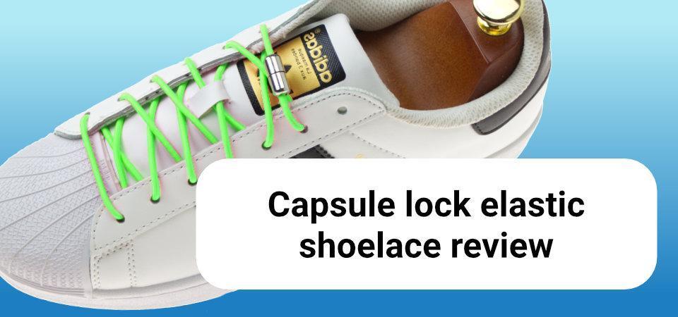 Capsule lock elastic shoelace review