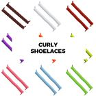 Amazon Coolnice Curly No Tie Shoelaces