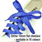 Glitter Flat Shoelaces