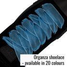 Organza Mesh Translucent Shoelaces