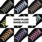 Plaid laces for your shoes