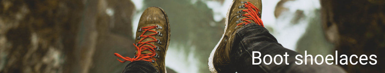 Boot shoelaces